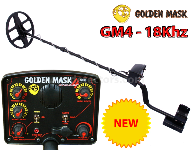 Golden Mask - 4 18Khz NEW