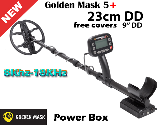 Metal detector Golden Mask 5+ PLUS - LITE