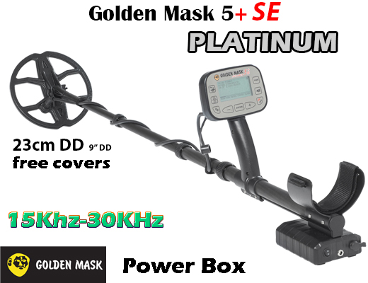 Metal detector Golden Mask 5+ SE Platinum - 15Khz-30Khz