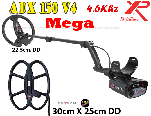 XP ADX 150 V4 MEGA - 2 search coils