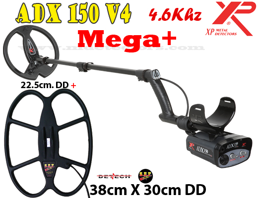 XP ADX 150 V4 MEGA+ - 2 search coils