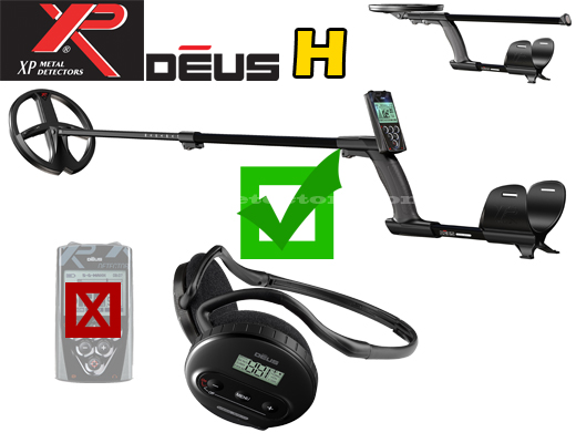 XP DEUS V3.2 H -without the remote control