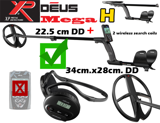 XP DEUS V3.2 MEGA H -without the remote control