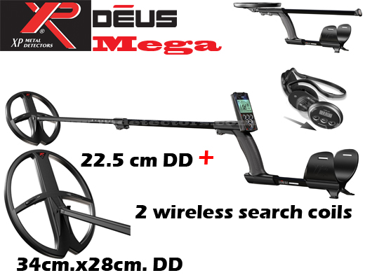 XP DEUS V3.2 MEGA 2 search coils