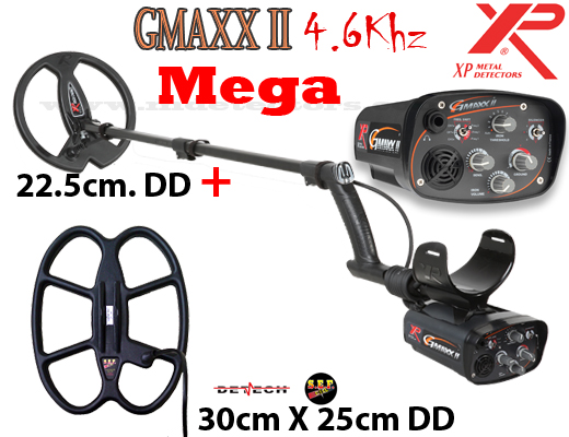 XP G-Maxx II V4 MEGA - 2 search coils