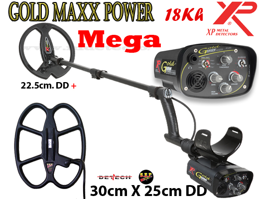 XP GoldMaxx Power V4 MEGA 2 search coils