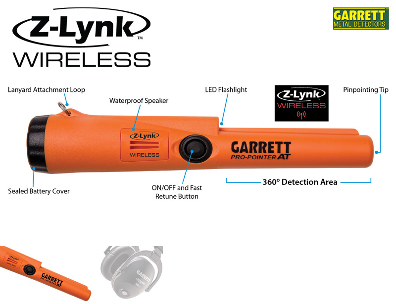 Metal detector Garrett Pro-Pointer AT Z-Lynk