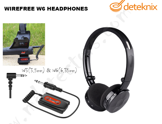 Deteknix WIREFREE W6/W3 HEADPHONES