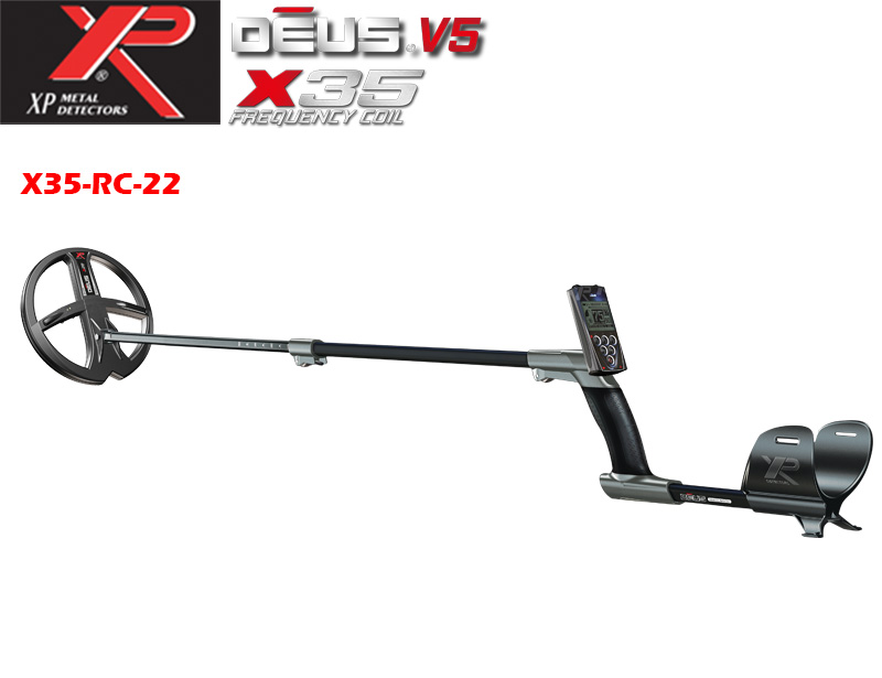 XP DEUS v.5 - X35 RC and coil 22