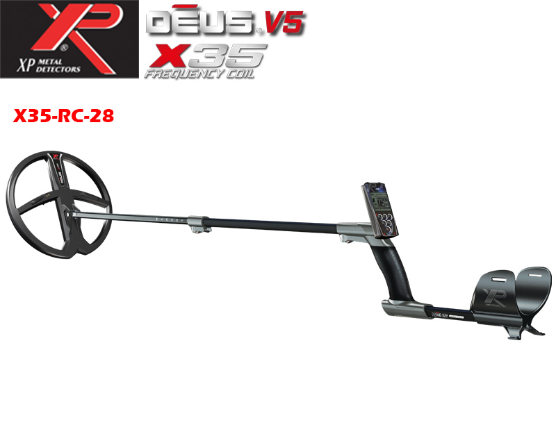Metal detector XP DEUS v.5 - X35 RC and coil 28